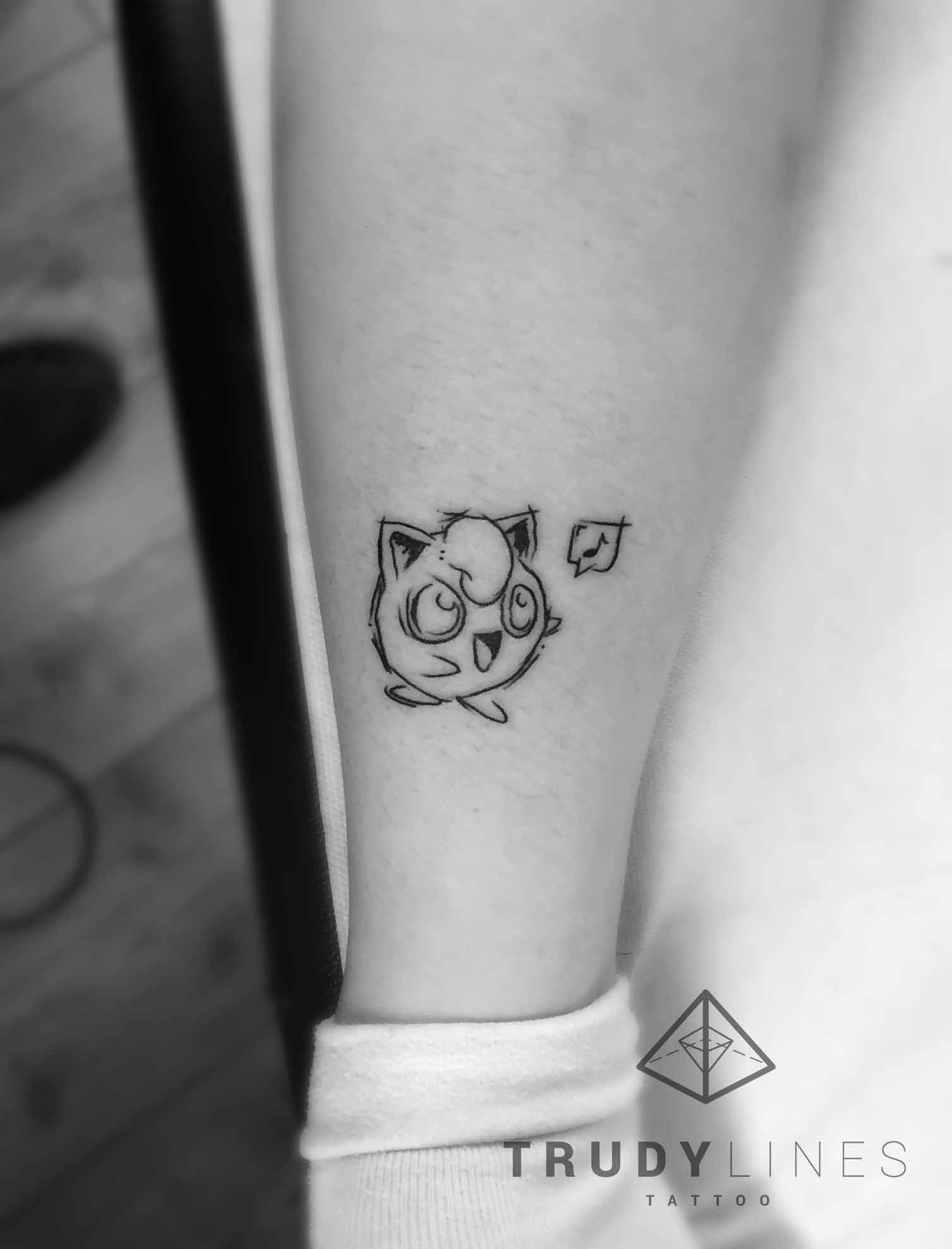 sketch pokemon tattoo
