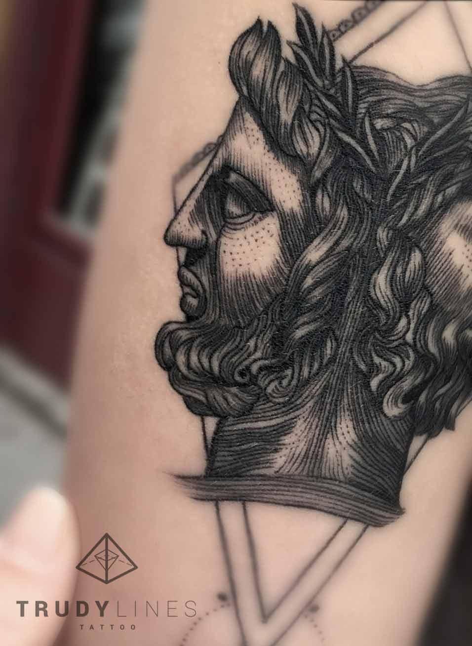lines tattoo
